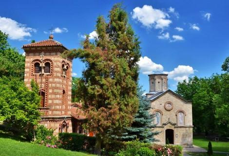 Velika Plana and Koporin Monastery