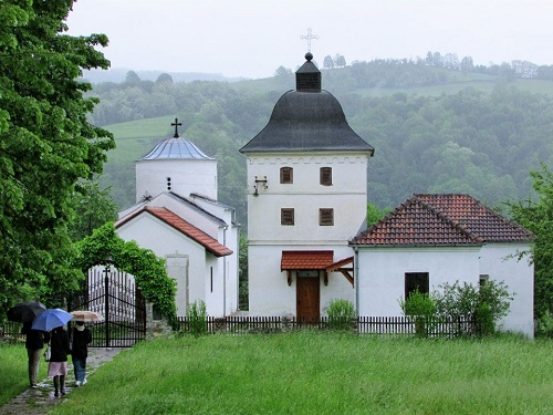 Bela crkva Karanska White Church of Karan village