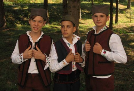 Folklore Children Summer School in the village