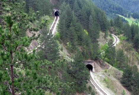 Mecavnik Wooden Town and Sargan Eight Train