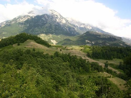 1 Pjesa veriore e mali te tomorrit dhe Kalaja e Tomorrit