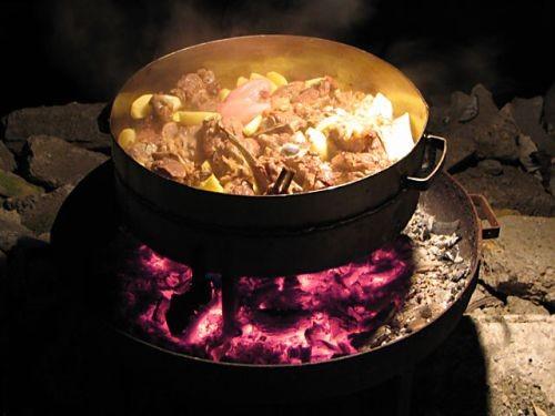 Рецепт мясо под сачем
