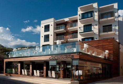 Aleksandar Hotel Becici Rafailovici