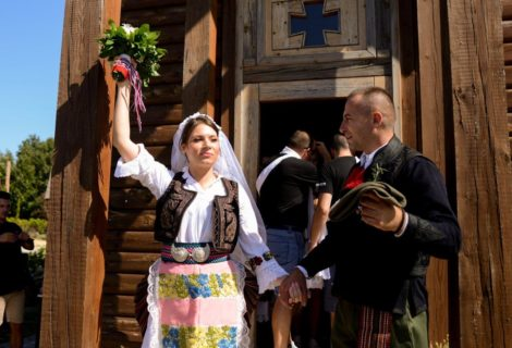 Serbian Traditional Wedding reconstruction