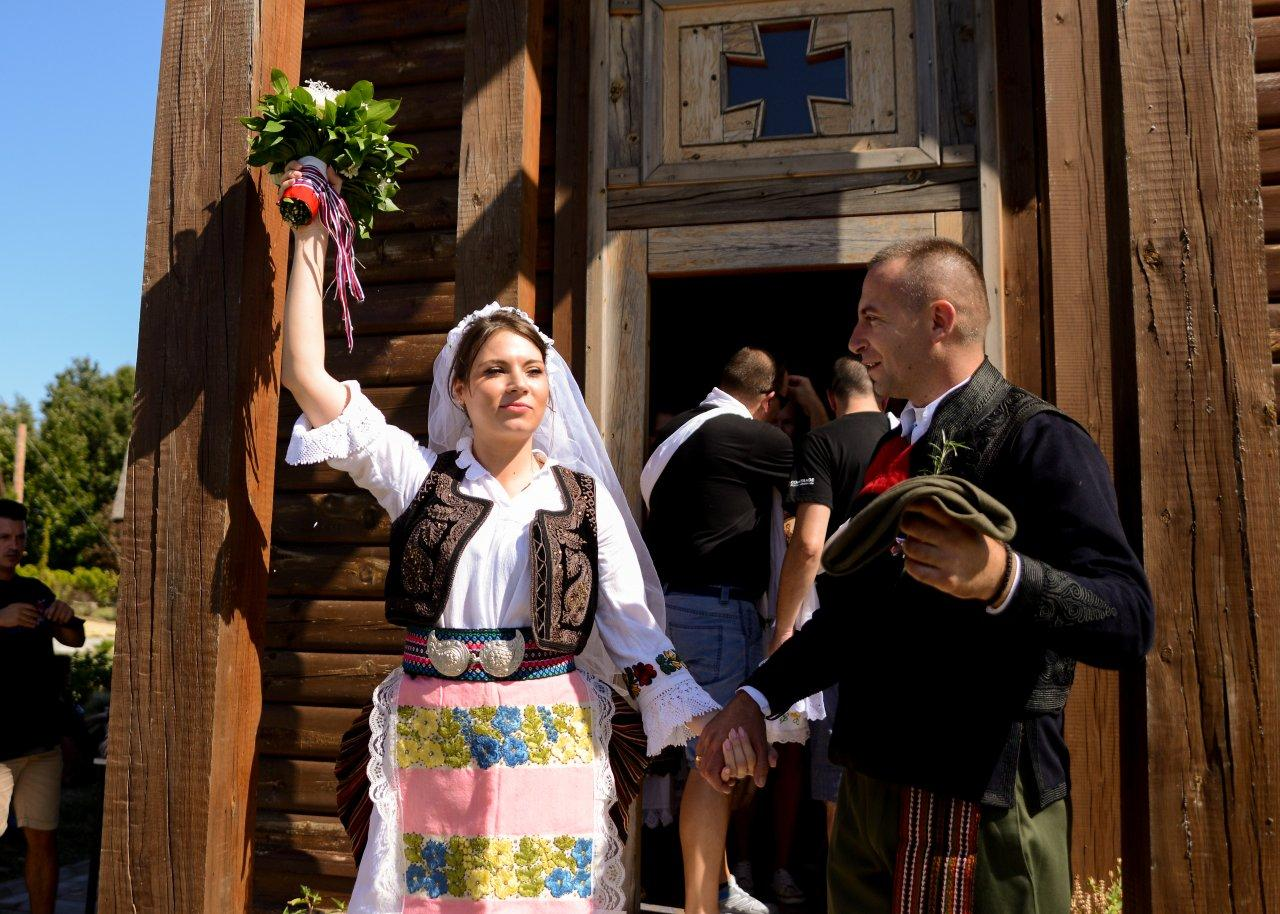 Serbian Traditional Wedding reconstruction