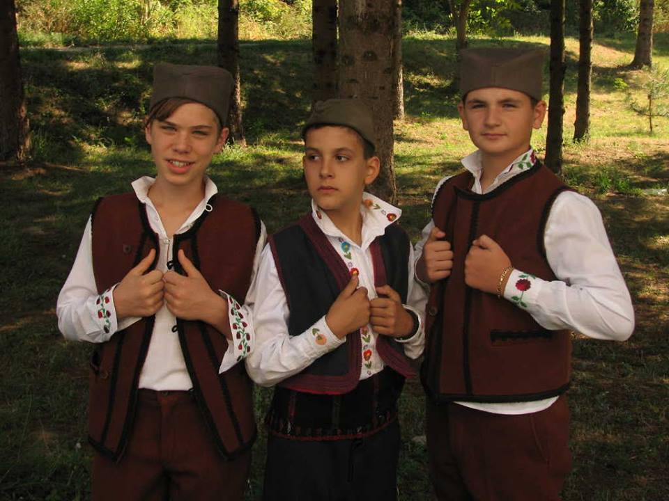 Folklore Children Summer School in the village