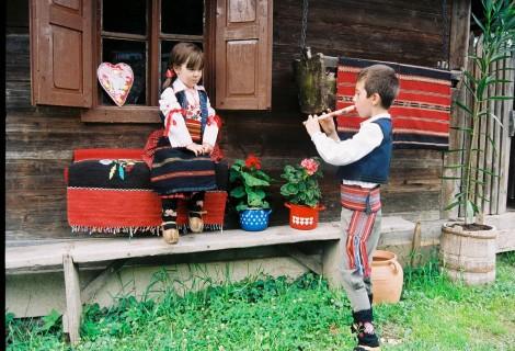 Terzica Avlija Traditional park Zlakusa village