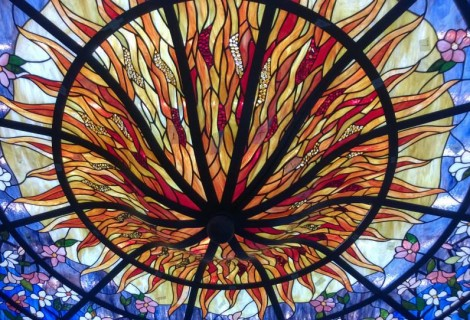 Tiffany Artistic Glass Processing Workshop Tripkova