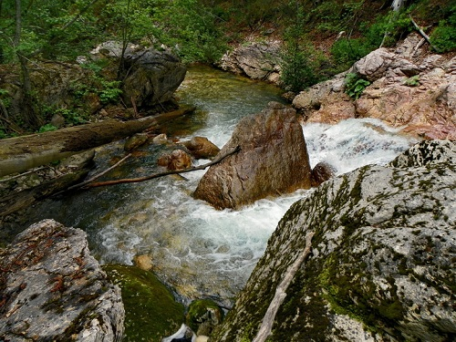 Reka Mileševka – Kanjon Mileševke