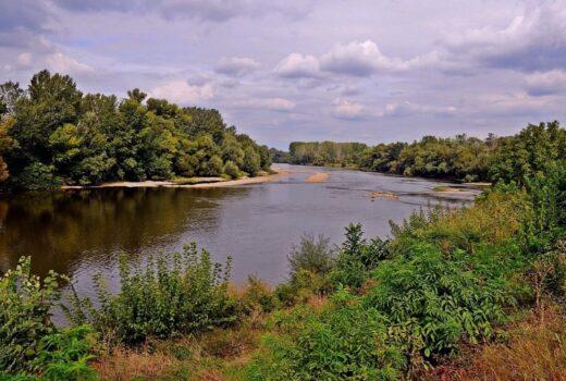 Floating on Morava River