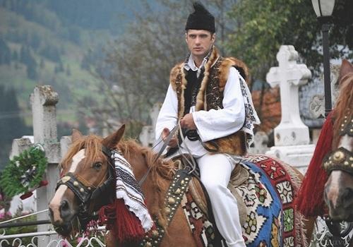 Folk Costumes Romania