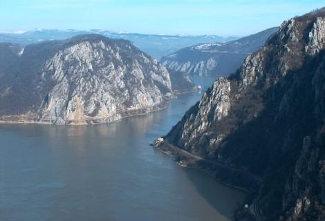 Cruising along the Danube