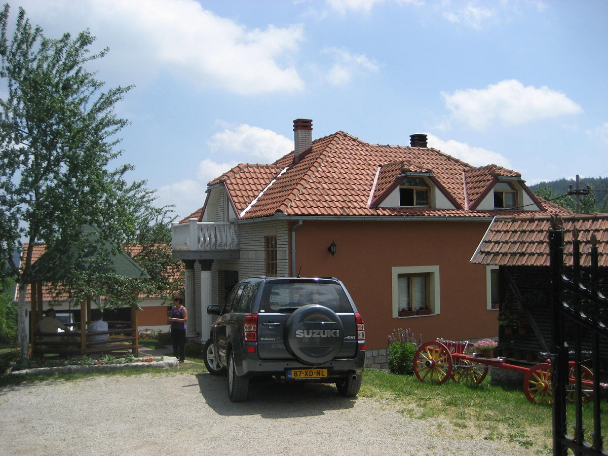Sljivovica rural household 133